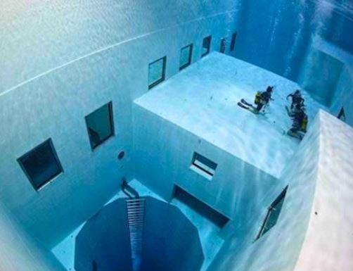 Piscina más Profunda del Mundo: Nemo 33