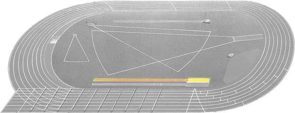 Pista Atletismo: Zonas y Áreas de Actuación