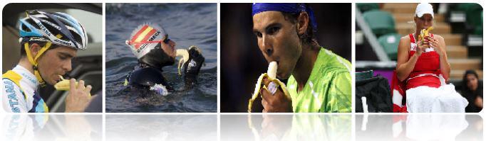 Beneficios de los Plátanos frente las Bebidas Deportivas