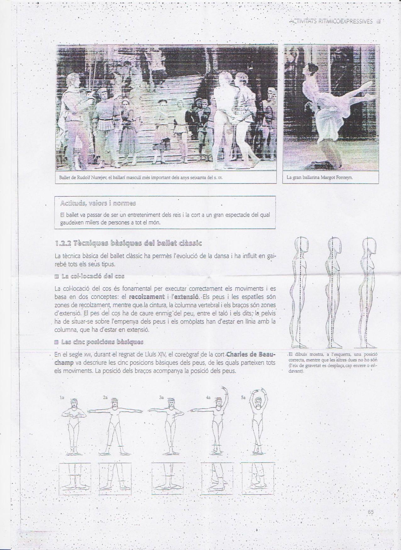 Técnicas básicas del ballet clásico