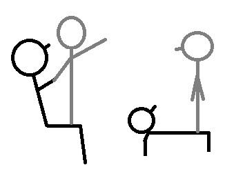 Acrogym Equilibrios Sobre Muslos