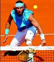 Tenis Golpes Dejada Rafa Nadal