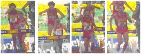 Atletismo 3000 Metros Obstaculos Paso Ria Carrera