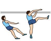 Atletismo Salto Altura Estilo Rodillo Ventral Batida