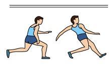 Atletismo Salto Altura Estilo Rodillo Ventral Carrera