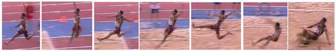 Atletismo Salto Longitud Caida Foso