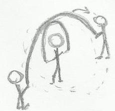 Saltar dos Cuerdas