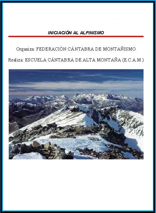 Iniciación al Alpinismo