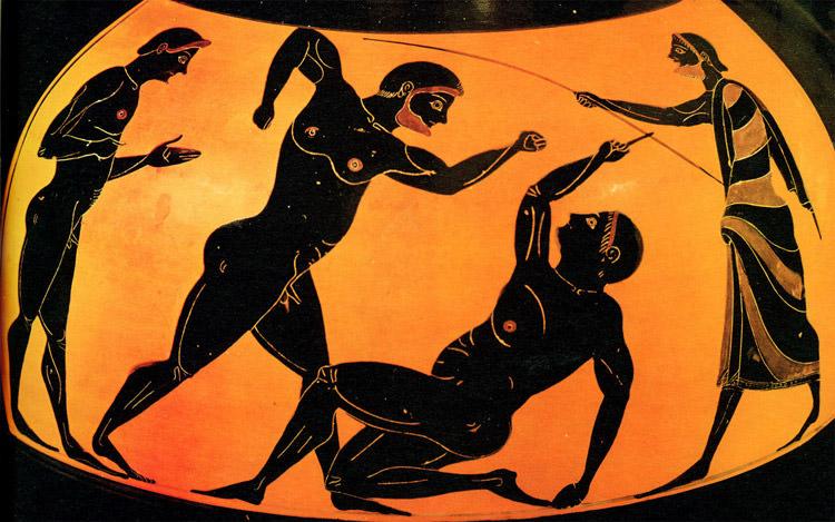 Juegos Olímpicos Antiguos - Competiciones o Agones