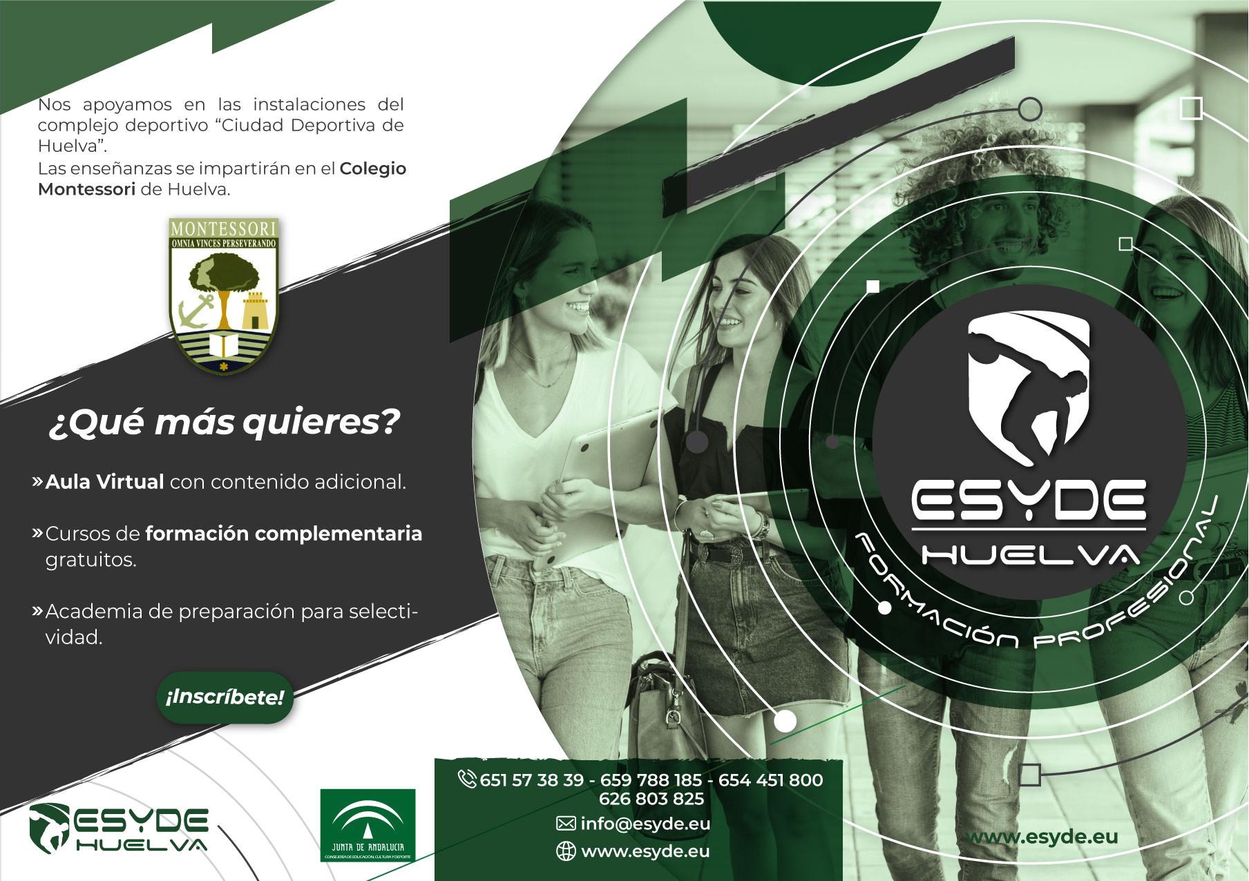 Nuevo Tafad Esyde Formación Huelva Centros Recomendados